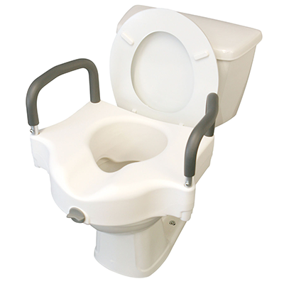 Medline Locking Elevated Toilet Seat With Arms Med Emporium
