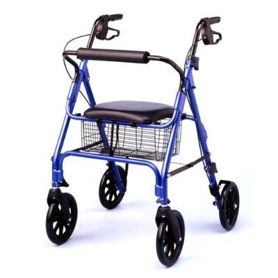 187 Medline Large Wheel Rollator Walker