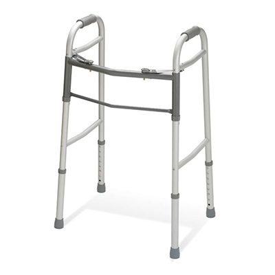 Guardian Easy Care Folding Walker No Wheels